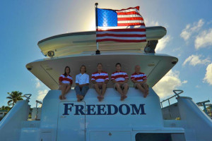 120' Freedom Yacht Charters