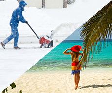 Snow or Tropical Vacations