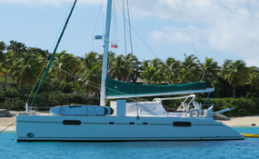 Catamaran Green Flash