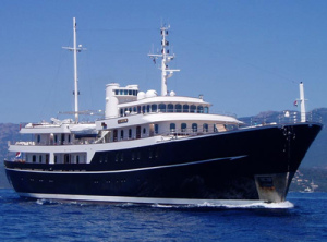 Charter the super yacht sherakhan