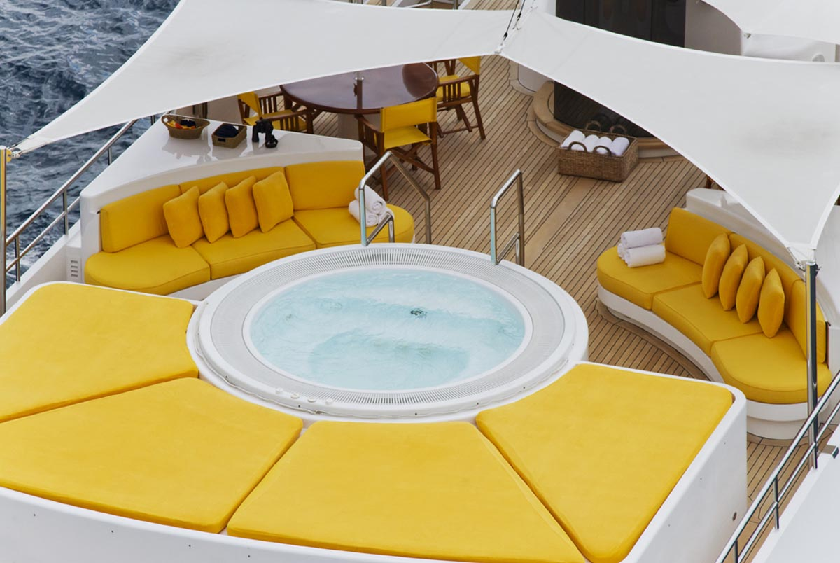 Motor Yacht Passion Amenities